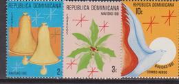 Dominicana - 1981 Natale Christmas Navidad Noel Set MNH - Natale