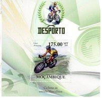 Mocambique 2010  -  Desporto  -  Ciclistas De Estrada Masculinos  -  Lance Armstrong  -  1v Sheet Neuf/MNH - Ciclismo
