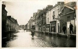 Nantes * La Rue Bougainville Sous L'eau * Janvier 1936 - Nantes
