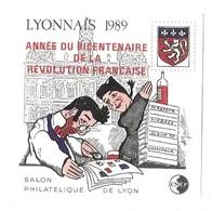 CNEP Salon Philatélique De Lyon 1989 Année Du Bicentenaire De La Révolution Française - CNEP