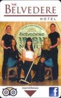 The-Belvedere-Hotel[2114]  Ireland-----Hotel--key Card, Room Key, Schlusselkarte, Hotelkart - Hotelkarten