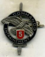Insigne Centre D Entrainement Commando N° 5___drago - Heer