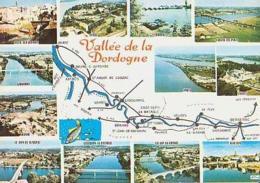 Dordogne        H669        Contour Géographique , 12 Vues ( De Blaye à Bergerac ) - France
