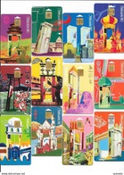 Découvrez 12 Différents  Grand Villes Du Monde (Valeur Catalogue 29 Euro) - Télécartes