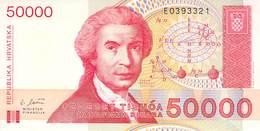 50 000 Dinar Kroatien UNC 1993 - Croatie