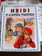 Heidi Et Le Château Mystérieux (livre De 8 Pages De 20,5 Cm Sur 25,5 Cm) - Bücher, Zeitschriften, Comics
