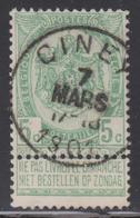 56  CINEY  1901 - 1893-1907 Armoiries