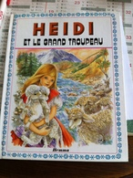 Heidi Et Le Grand Troupeau (livre De 8 Pages De 20,5 Cm Sur 25,5 Cm) - Bücher, Zeitschriften, Comics
