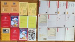 10 CP POSTE EXPO- LA BELGIQUE FRANCAIS FLAMAND PRETIMBRE HIRONDELLE BUZIN -NIOEL - LA POSTE - Stamped Stationery