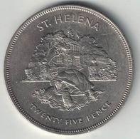 St Helena 25 Pence – 1977(Jubilee) - Saint Helena Island