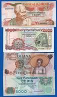 Ghana  4  Billets  Sup  Neuf - Ghana