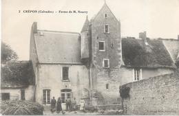 CPA Calvados 29-  CREPON---Animations - Francia