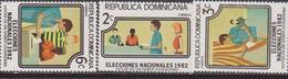 Dominicana - 1982 Eleciones Set MNH - Repubblica Domenicana