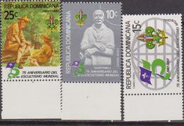 Dominicana - 1982 Scout Set MNH - Nuovi