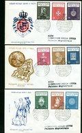 SOVRANO MILITARE ORDINE DI MALTA - SMOM - FDC FILAGRANO - 1966 - POSTE MAGISTRALI - Sovrano Militare Ordine Di Malta
