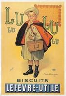 Publicité Affiche Lefèvre Utile Petit Ecolier 1897 (2 Scans) - Reclame