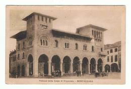 MONTAGNANA (PD):  PALAZZO  DELLA  CASSA  DI  RISPARMIO  -  FP - Banche