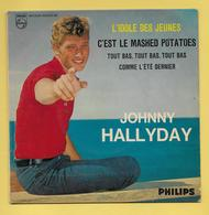 Disque Vinyle 45 Tours : JOHNNY HALLYDAY : 4 Chansons : Voir Les Titres Dans La Description..Scan A  : Voir 2 Scans - Collectors