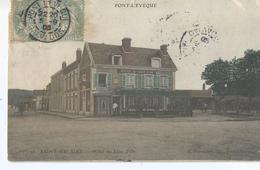 CPA Calvados 21-  PONT L'EVEQUE --SAINT MELAINE---Animations - Francia