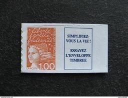 TB  N° 3101a , Avec Vignette, Neuf XX. - France