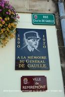 Remiremont (88)- Hommage Au Général De Gaulle (Edition à Tirage Limité) - Remiremont