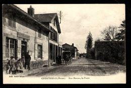 51 - COURTISOLS (Marne) - Rue Massez, La Poste - Courtisols