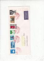 GIAPPONE 1973 -  Lettera Per La  Germania - Annullospeciale - Animani - Cervo - 1926-89 Imperatore Hirohito (Periodo Showa)