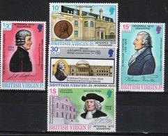 British Virgin Islands 1973 Queen Elizabeth Set Of Stamps Celebrating Interpex (Quakers) - British Virgin Islands