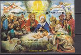 Vanuatu 1982 Christmas Natale Navidad Noel Set MNH - Natale