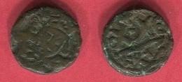 JUSTIN II 1/2 FOLLIS  CARTHAGE  ( S 874)    TB 12 - Byzantine