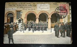 CPA LEIPZIG GARNISON HAUPTWACHE POLIZEI WACHE POLICE MILITAIRE ALLEMAND ALLEMAGNE DEUTSCHLAND GERMANY WAR WW1 GUERRE - Militari