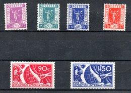 Série N 322 à 327 / NEUFS **  /  Côte 125 € - France