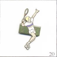 Pin's - Sport - Tennis / Tennisman Au Smash. Estampillé Démons & Merveilles. EGF. T663-20 - Tennis