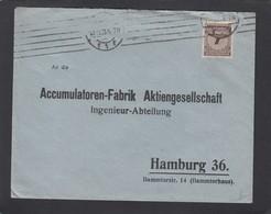 BRIEF MIT EINE MILLIARDE MARK FRANKATUR. - Deutschland