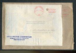 "All.Besetzung / 1946 / Brief Frei-Stempel Osnabrueck ""GEBUEHR BEZAHLT"" (17206) - Zona AAS"