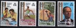 British Virgin Islands 1981 Queen Elizabeth Set Of Stamps Celebrating Duke Of Edinburgh Award Scheme. - British Virgin Islands