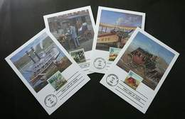 USA United States Classic Mail Transportation 1989 Transport (maxicard) - Stati Uniti