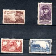 Série N 454 à 457 / NEUFS **  /  Côte 52 € - Unused Stamps