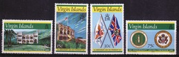 British Virgin Islands 1976 Queen Elizabeth Set Of Stamps Celebrating 5th Anniversary Of Friendship Day. - British Virgin Islands