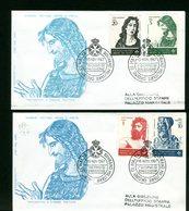 SMOM - SOVRANO MILITARE ORDINE DI MALTA - FDC 1967 - PINTURICCHIO - Sovrano Militare Ordine Di Malta