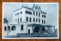 COO * EGEO * 28/3/1937  Su 10 C CARTOLINA ALBERGO GELSOMINO Con Buona Pasqua RISTORANTE FASCIO F.lli PALTRINIERI A RODI - Egeo