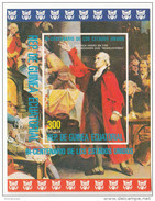 Guinea Equatoriale 1976  200° Anniv. Stati Uniti USA P. Henry  Sheet Perf. Nuovo MNH - Indipendenza Stati Uniti