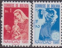 Bolivia 1981 - Natale Christmas Navidad Noel Set Mnh - Natale
