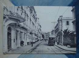 Monte Carlo (Monaco) -Bd Des Moulins Le Tramway - 1919 - Monaco