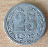 Jeton De Nécessité 25 Centimes Chambre De Commerce D'Evreux 1921 - Aluminium - Monetary / Of Necessity
