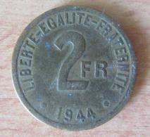 """France - Monnaie 2 Francs """"France"""" 1944 - France"""