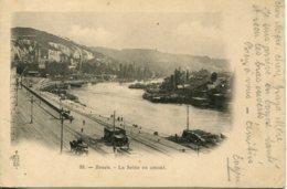 CPA - ROUEN - LA SEINE EN AMONT - Rouen