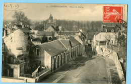 CPA 36 CHATEAUROUX Place Du Palan 1909 - Chateauroux