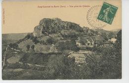 SAINT LAURENT LA ROCHE - Vue Prise Du Châtelet - Altri Comuni