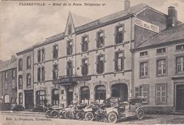 FLORENVILLE HOTEL DE LA POSTE (VOITURES !)  VOIR VERSO - Florenville